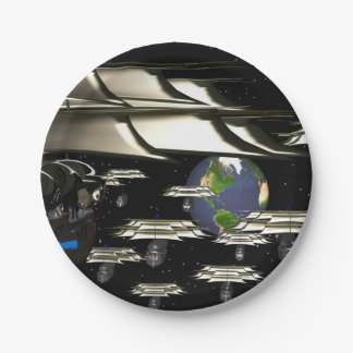 faceconomics Age of Discovery Orbit 7 Inch Paper Plate