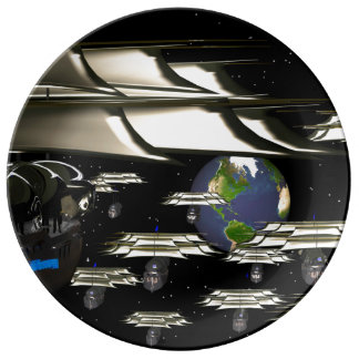 faceconomics Age of Discovery Porcelain plate