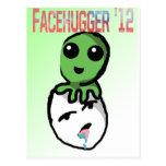 Facehugger for 2012 postcard