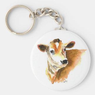 facekeychain de la vaca llaveros