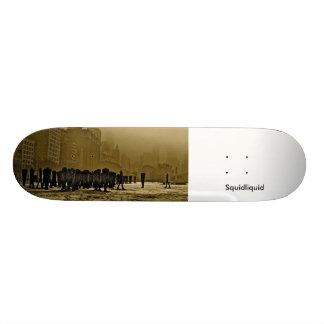 Faceless Companion, Squidliquid Skateboard Deck