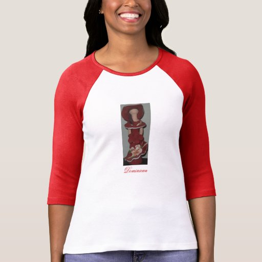 Faceless Dominican Ceramic Doll, Muneca sin Rostro T Shirts