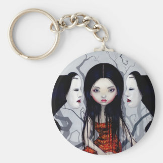"""""""Faceless Ghosts"""" Keychain"""