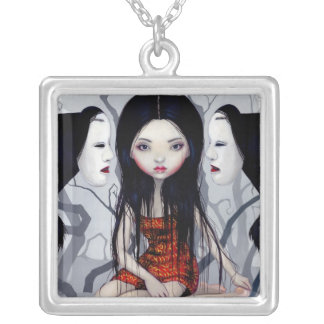 Faceless Ghosts NECKLACE japanese gothic horror