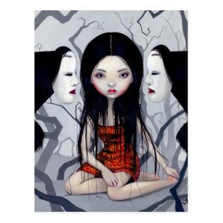 """Faceless Ghosts"" Postcard"