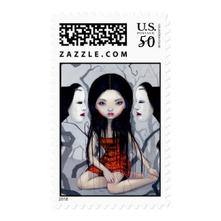 """""""Faceless Ghosts"""" Stamp"""