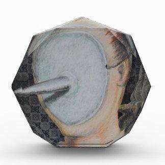 Faceless Mask Portrait Abstract Outsider Art Award