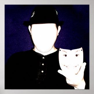 Faceless Masquerade Poster