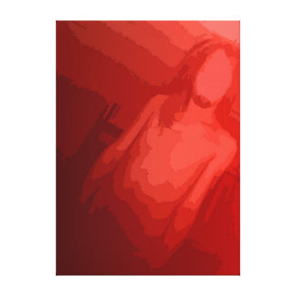 faceless terror canvas print