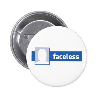 Faceless Woman - Anonymous Profile Pic Button