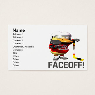 Faceoff Business Card