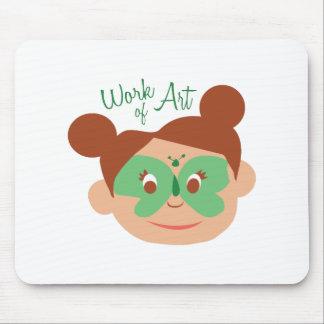 FacePaint_WorkofArt Mouse Pad