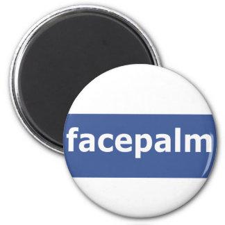 Facepalm Refrigerator Magnets