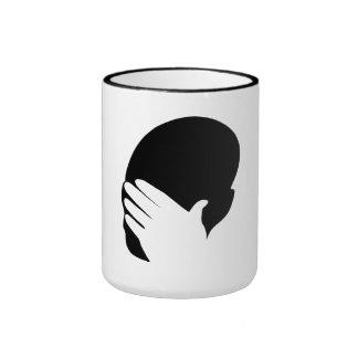 Facepalm meme mugs