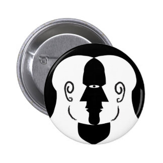 faces 2 inch round button