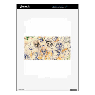 Faces Decal For iPad 2