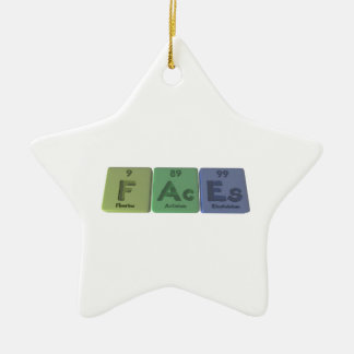 Faces-F-Ac-Es-Fluorine-Actinium-Einsteinium.png Ceramic Ornament