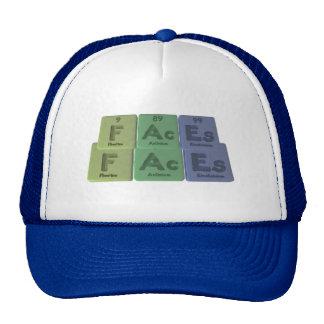 Faces-F-Ac-Es-Fluorine-Actinium-Einsteinium.png Trucker Hat
