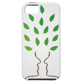 Faces forming a tree iPhone SE/5/5s case