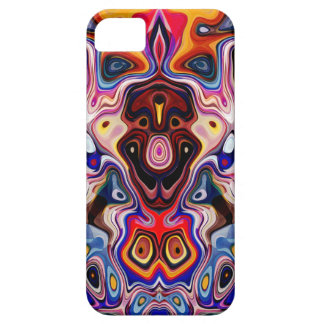 Faces In Abstract Shapes 1 iPhone SE/5/5s Case