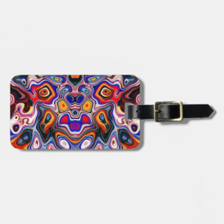 Faces In Abstract Shapes 3 Luggage Tags