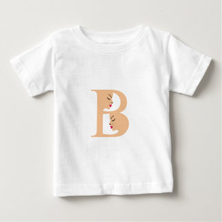 Faces in alphabet B for beauty Baby T-Shirt