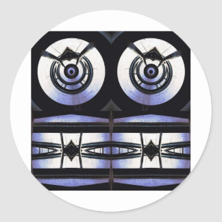 Faces in the Gears Sticker