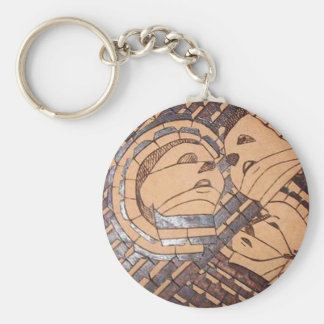 Faces Keychain