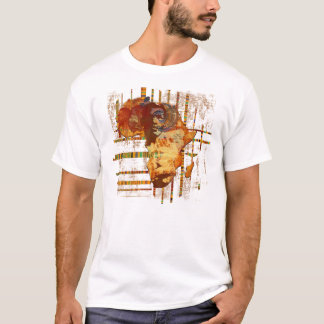 Faces of Africa African Ethnic tribal art Africa T T-Shirt