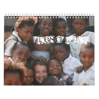 Faces of Africa - Customized - Customized Calendar