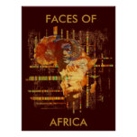 Faces of Africa - Limited Edition Collosal poster