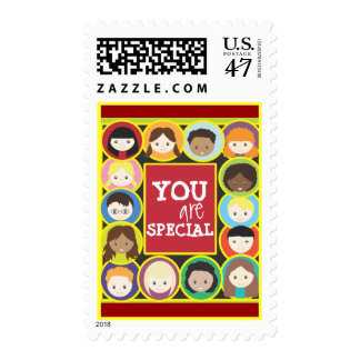 Faces of Children Postage