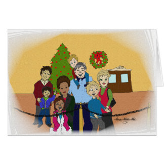 Faces of Christmas 2 - Customized Card