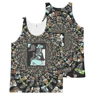 Faces of Death All-Over-Print Tank Top