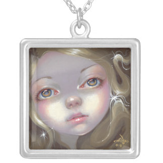 Faces of Faery 137 NECKLACE daydreaming fairy