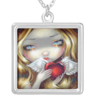 Faces of Faery 140 NECKLACE Valentine Fairy