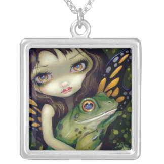 Faces of Faery 146 NECKLACE Frog Fairy