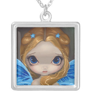 Faces of Faery 14 NECKLACE big eye fairy star