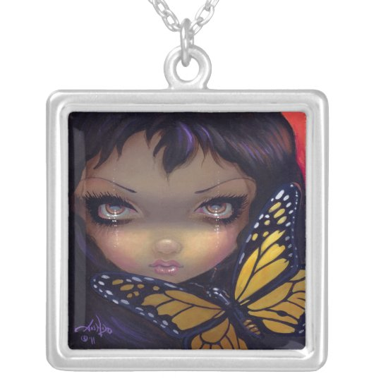 Faces of Faery 151 NECKLACE butterfly fairy