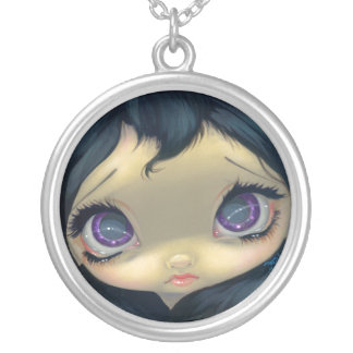 Faces of Faery #155 NECKLACE big eyed fairy