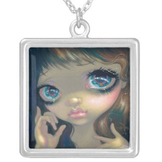 Faces of Faery 158 NECKLACE big eyes art fairy