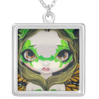 Faces of Faery 30 NECKLACE big eye fairy CUTE
