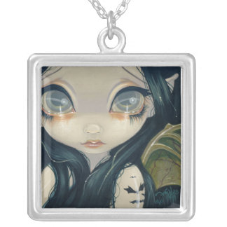 Faces of Faery 52 NECKLACE gothic bat tattoo fairy