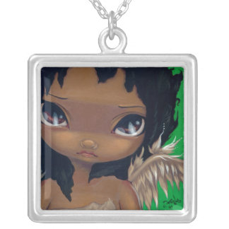Faces of Faery #68 NECKLACE big eye fairy angel