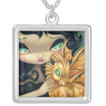 Faces of Faery 95 NECKLACE dragon fairy