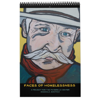 Faces of Homelessness Calendar