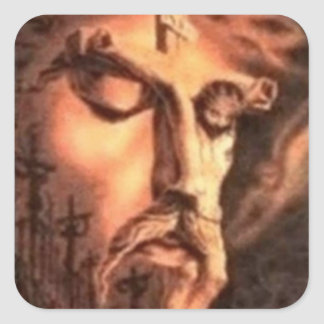 FACES of JESUS Stickers