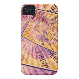 Faces of Liberty Coin Collage iPhone 4 Cover