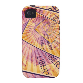 Faces of Liberty Coin Collage Case-Mate iPhone 4 Case
