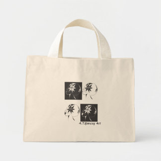 Faces of Me Tiny Tote Tote Bag